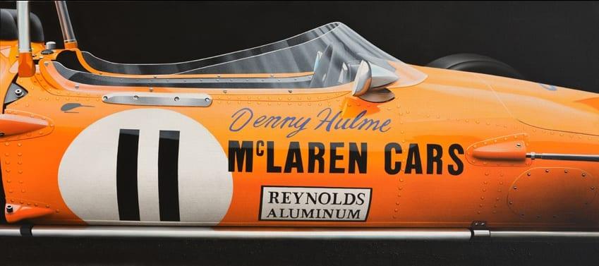MAC LAREN M14/A / 1970 – HULME