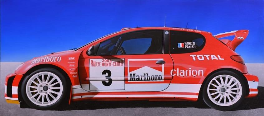 PEUGEOT 206 WRC – PANIZZI