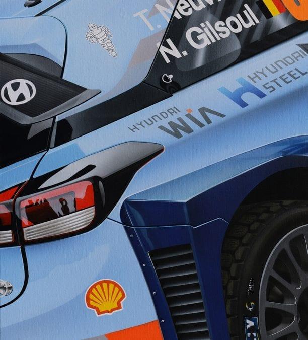 HYUNDAI I20 WRC – NEUVILLE