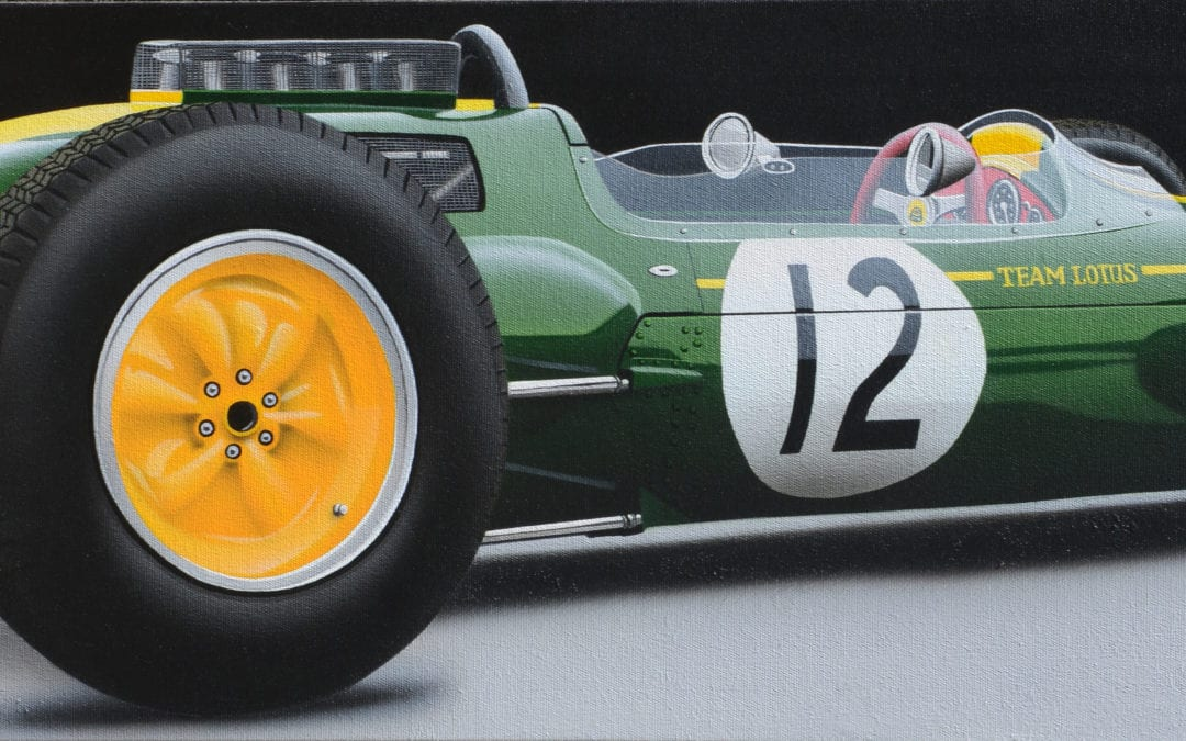 Lotus 25 – Jim Clark